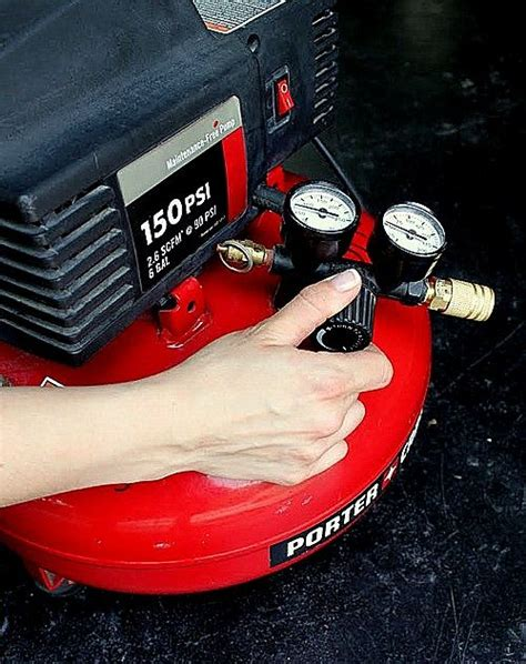 upholstery air compressor air compressor and hose set up and safety upholstery