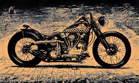 Bendera Harley Davidson 150cm X 90cm Harley Davidson Distributor poster bild bilder popart harley davidson bike chopper motorrad bis 150x90 ebay