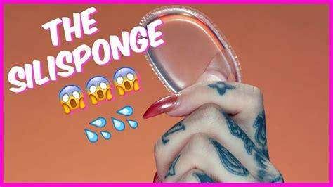 Sili Sponge by Silisponge Silicone Sponge Review Demo Jeffree