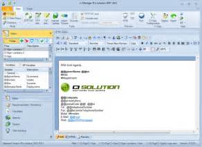 Free Email Signature Template by Ci Sign Email Signature Manager For Outlook Exchange