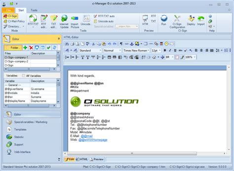 email signature templates for outlook 2010 ci sign email signature manager for outlook exchange