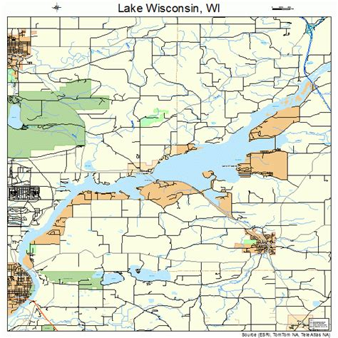 wisconsin lakes map lake wisconsin wisconsin map 5542012