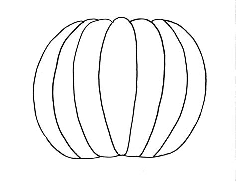 Cool Pumpkin Outlines by Simple Pumpkin Outline Clipart Panda Free Clipart Images