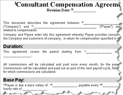 sle invoice ontario consulting agreement form sles 8 free documents in word