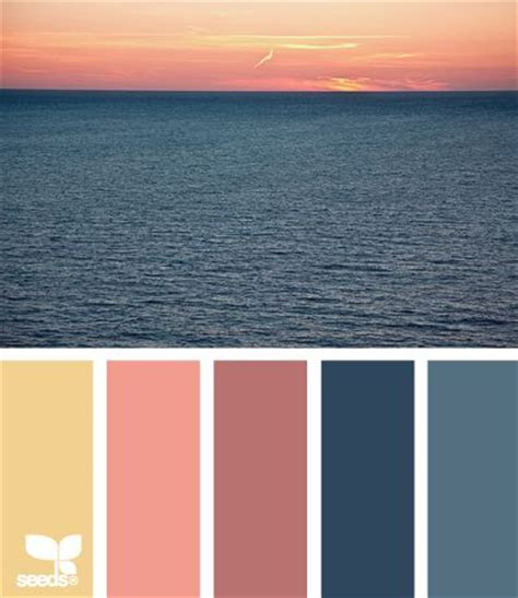 sunset color sunsets colors and color palettes on pinterest