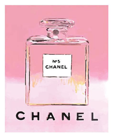 Chanel Canvas 1625 Semipremium chanel no 5 no5 no 5 andy warhol print poster by printartworks