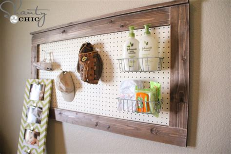 diy pegboard diy wall decor pegboard shanty 2 chic