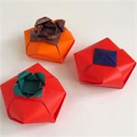 Origami Tomato - origami flowers for flowers fruits