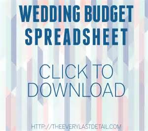 Forum Credit Union Wedding The 25 Best Wedding Budget Spreadsheet Ideas On