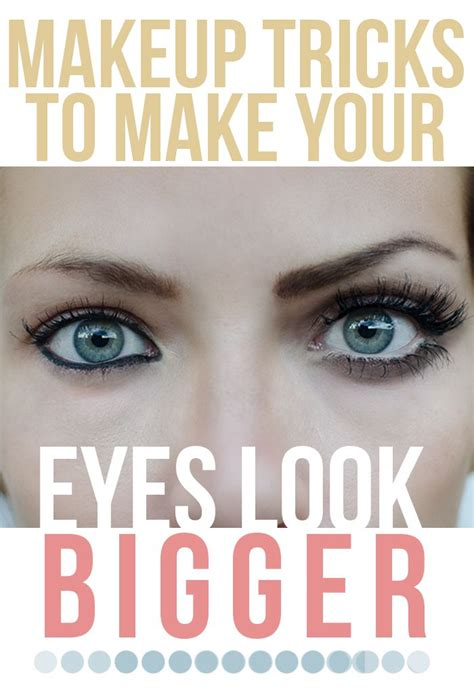 Make Up Tips To Look by How To Make Your Look Bigger With Makeup You Mugeek