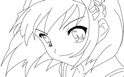 manga girl coloring pages anime coloring pages for adults bestofcoloring com