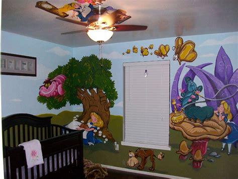Alice In Wonderland Wall Murals alice in wonderland mural 08 by wicked on deviantart