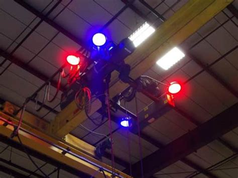 in overhead light the s and only overhead crane safety spotlight