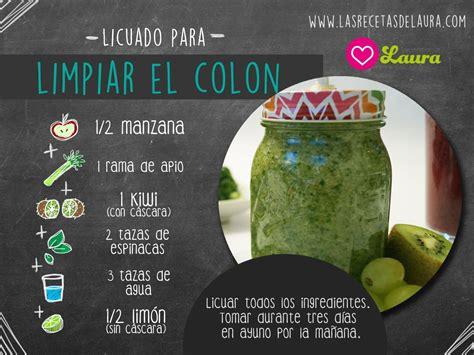 Jugos Detox Para El Colon by Jugo Verde Para Limpiar El Colon Detox Smoothies And Juice