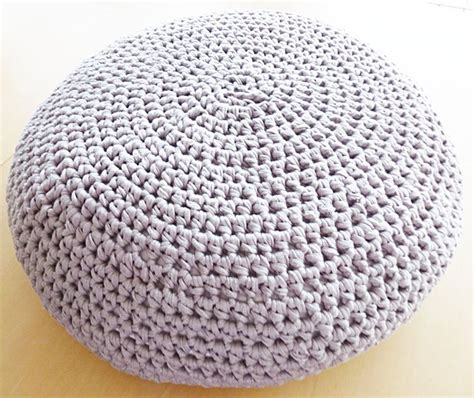 crochet pattern for pouf ottoman crochet pouf ottoman floor cushion pdf pattern instant