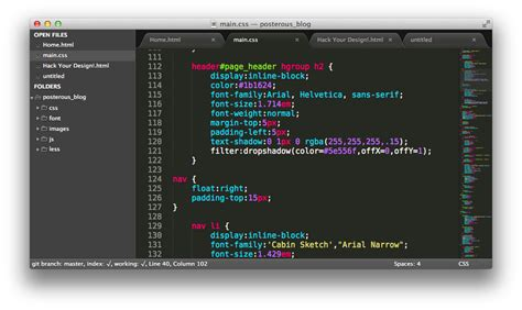 sublime text 3 vim theme vimから3日で乗り換えた 次世代モテエディタ sublime text 2 の魅力 hack your design