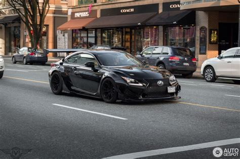 lexus rcf widebody lexus rc f rocket bunny wide 9 february 2016