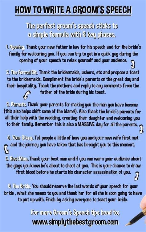 How to Write Your Groom's Speech   Groom's Speech   Groom