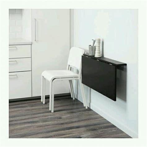 desain meja dinding meja lipat dinding perabotan rumah di carousell