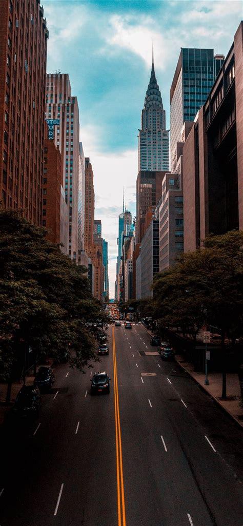 chrysler building  york united states iphone