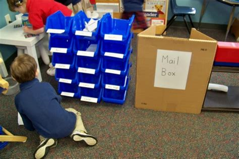 Centerline Post Office by Growing In Pre K Dramatic Play