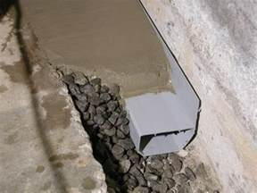 basement systems waterguard basement waterproofing system in branford ct