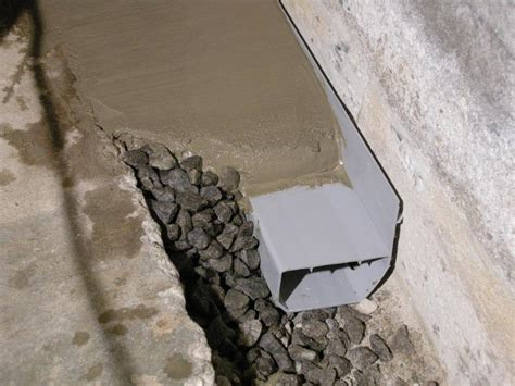 Interior Perimeter Drainage System by Waterguard Basement Waterproofing System In Branford Ct