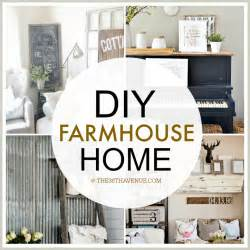Diy Home Decor Crafts Home Decor Diy Projects Farmhouse Design The 36th Avenue