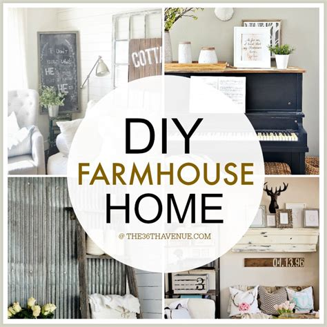 diy home decorating home decor diy projects farmhouse design the 36th avenue