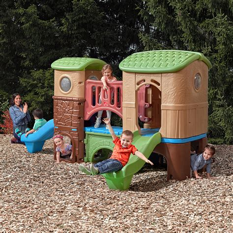step 2 play structure with slide step 2 climber and swing clubhouse climber climber