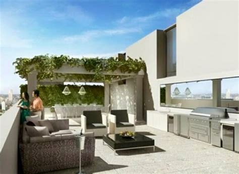 Building Your Own Kitchen Island roof terrace design ideas examples and important aspects