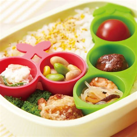 Silicon Die Cut Food Cup Tomica microwavable bento silicone food cup 3 deluxe for food cup