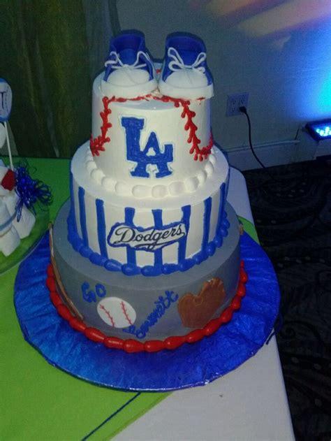 dodger baby shower cake al and nane baby shower