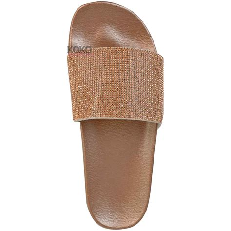 Flat Shoes Staccato 15 new womens diamante comfy sliders flat shoes