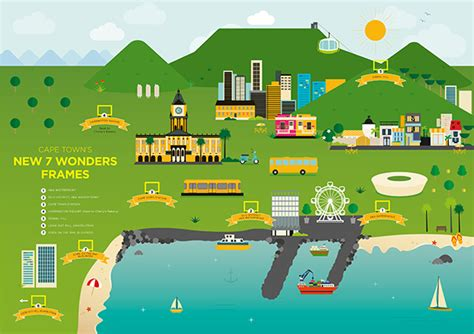7 wonders of africa map table mountain celebrates 5 years as a new7wonder of