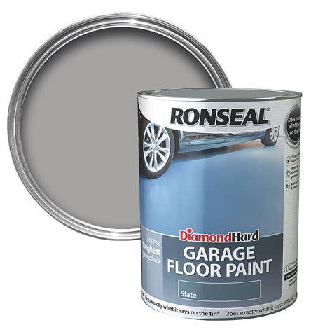 Ronseal Diamond Slate Satin Garage floor paint5L