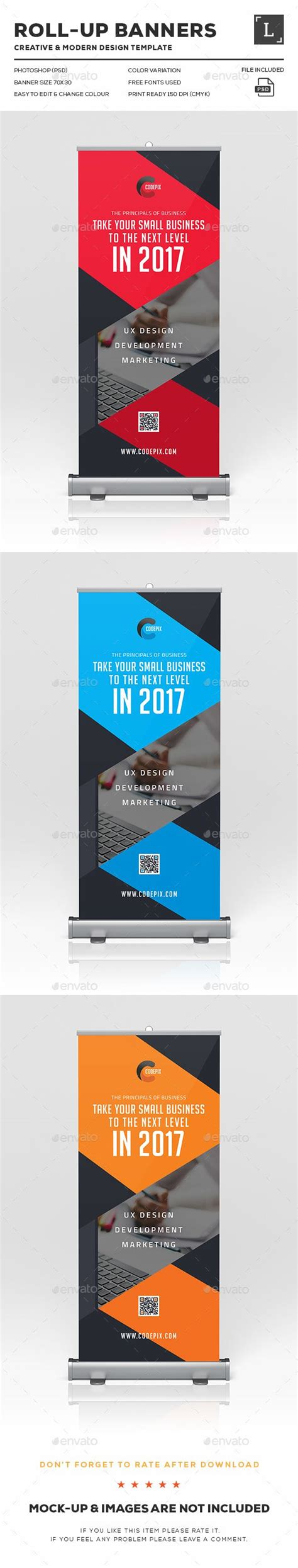 banners design templates corporate roll up banners rollup banner and print templates