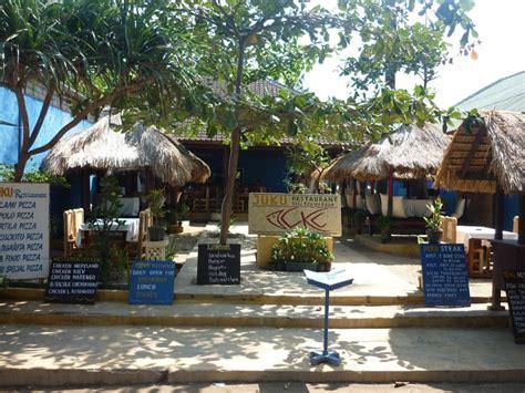 8 good restaurants on the gili islands juku restaurant gili trawangan photo