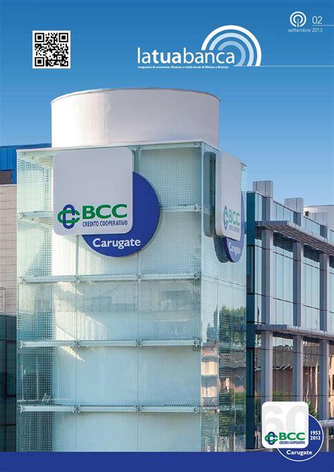credito cooperativo di carugate n 2 2013 la tua by bcc carugate e inzago issuu
