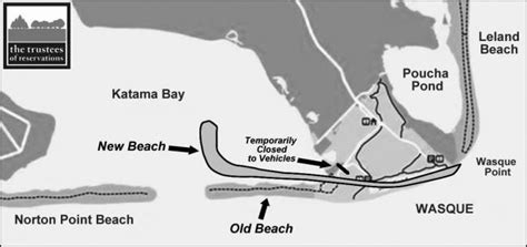 Chappaquiddick Map Three Years Later Norton Point Breach Marches On The Martha S Vineyard Times