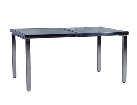 extendable kitchen table sleek glass and chrome extendable kitchen table for sale