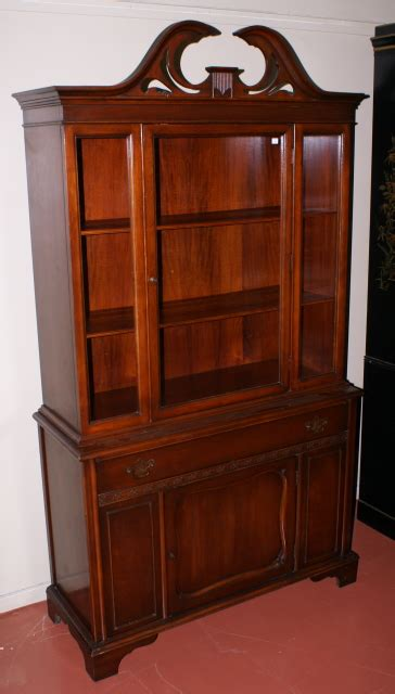 China Cabinet mahogany china cabinet antique china cabinet
