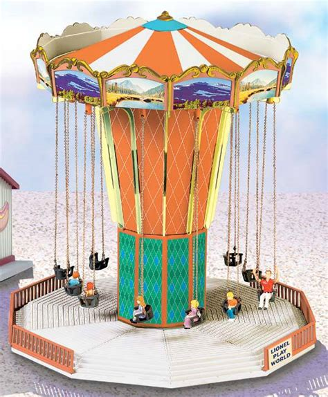 swings amusement park ride lionel play world amusement park swing ride