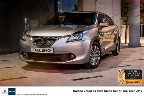 All New Suzuki New Suzuki Baleno Is Small Car Of Th Year 2017