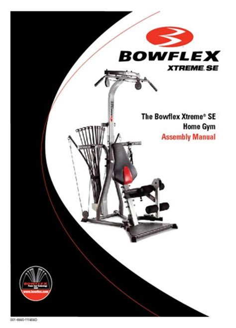 read the bowflex xtreme se home assembly