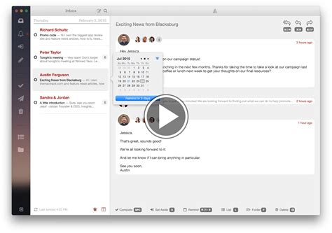 best email client mac 7 best desktop email clients for mac