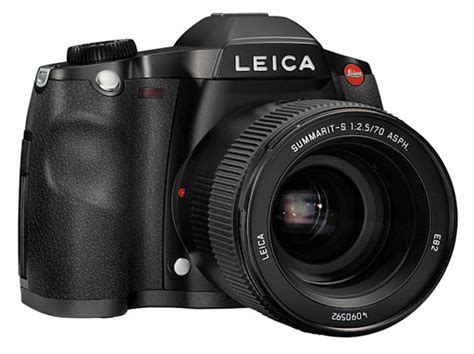 Kamera Dslr Leica S2 leica s2 professional medium format dslr the register