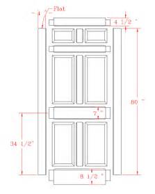 Height Of Interior Door Standard Door Dimensions