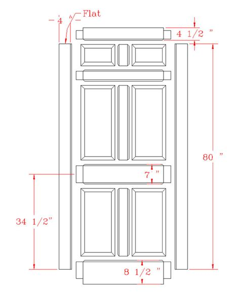 Standard Exterior Door Height Standard Door Dimensions