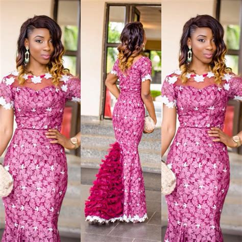 ankara styles weeding amillionstyles amazing wedding guest long gowns lace